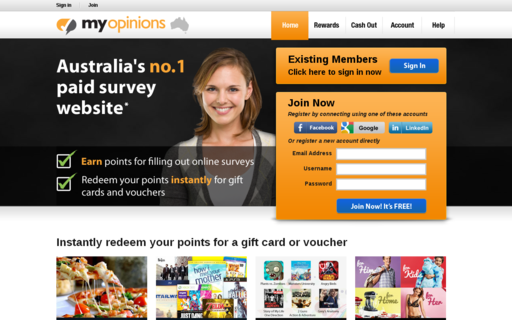 Access myopinions.com.au using Hola Unblocker web proxy