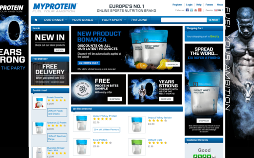 Access myprotein.com using Hola Unblocker web proxy