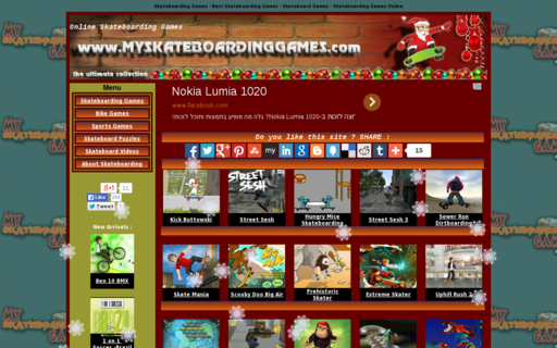 Access myskateboardinggames.com using Hola Unblocker web proxy