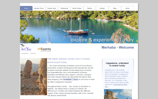 Access mytouristanbul.com using Hola Unblocker web proxy