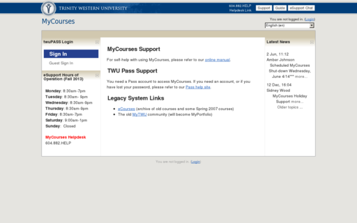 Access mytwu.ca using Hola Unblocker web proxy