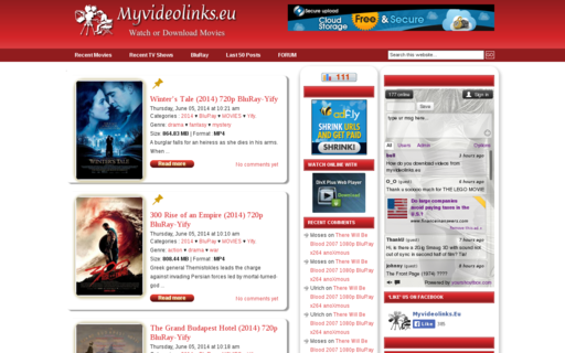 Access myvideolinks.eu using Hola Unblocker web proxy