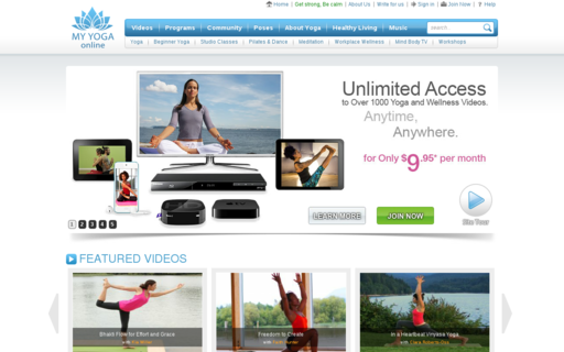 Access myyogaonline.com using Hola Unblocker web proxy