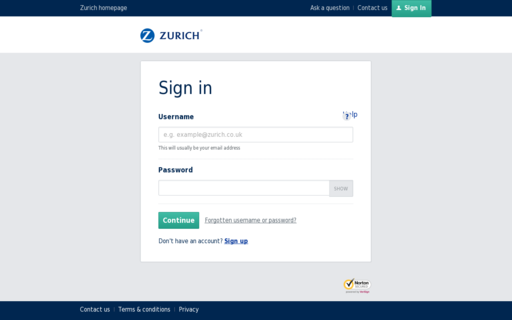 Access myzurich.co.uk using Hola Unblocker web proxy