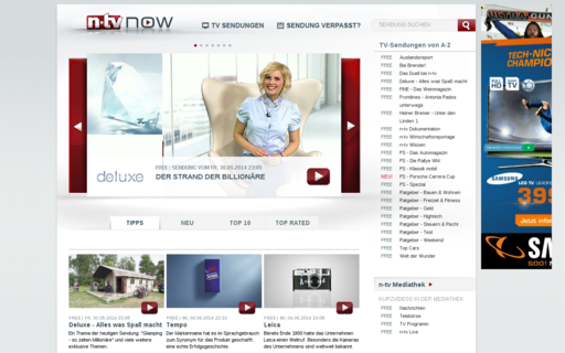 Access n-tvnow.de using Hola Unblocker web proxy