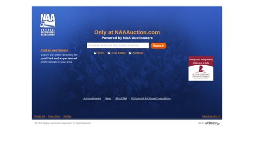 Access naaauction.com using Hola Unblocker web proxy