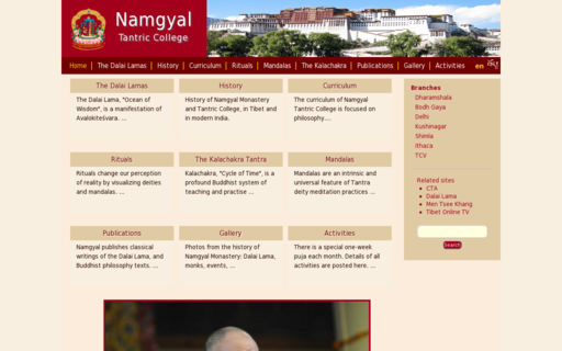 Access namgyalmonastery.org using Hola Unblocker web proxy