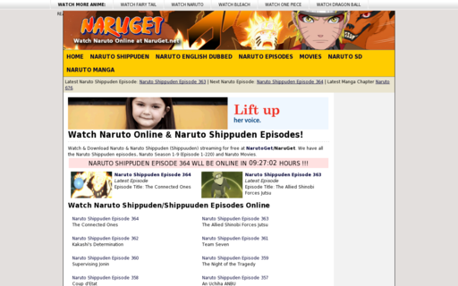 Access naruget.net using Hola Unblocker web proxy