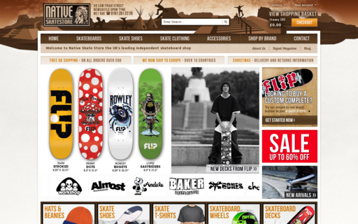 Access nativeskatestore.co.uk using Hola Unblocker web proxy