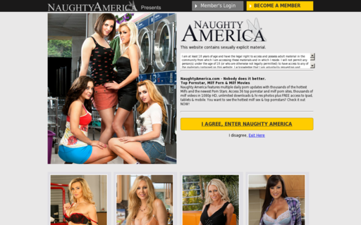 Access naughtyamerica.com using Hola Unblocker web proxy
