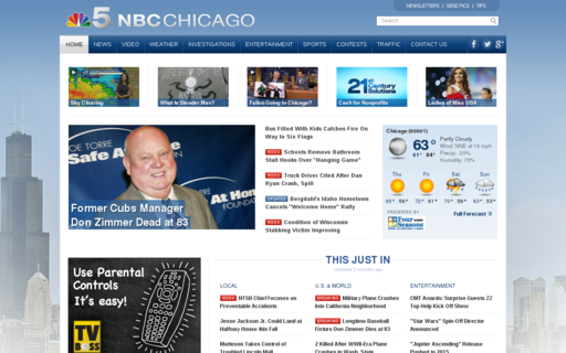 Access nbcchicago.com using Hola Unblocker web proxy