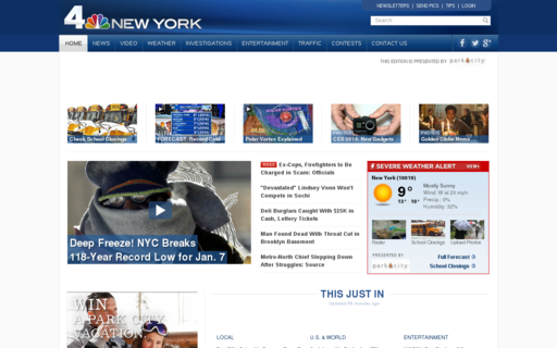Access nbcnewyork.com using Hola Unblocker web proxy