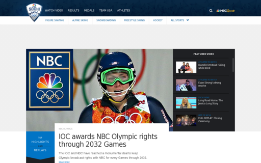 Access nbcolympics.com using Hola Unblocker web proxy