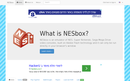 Access nesbox.com using Hola Unblocker web proxy