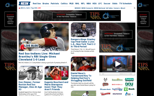 Access nesn.com using Hola Unblocker web proxy