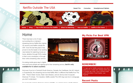 Access netflixoutsidetheusa.com using Hola Unblocker web proxy