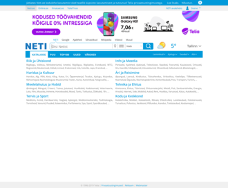 Access neti.ee using Hola Unblocker web proxy