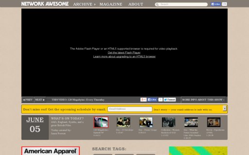 Access networkawesome.com using Hola Unblocker web proxy