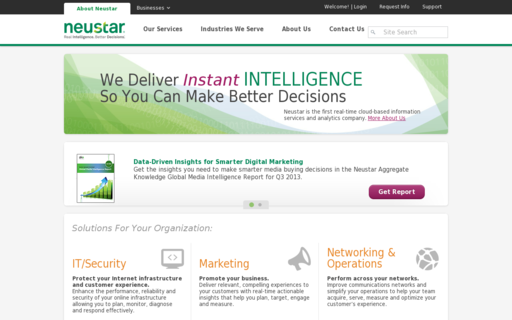 Access neustar.biz using Hola Unblocker web proxy