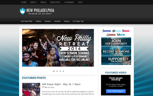 Access newphiladelphiachurch.com using Hola Unblocker web proxy