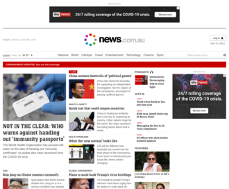 Access news.com.au using Hola Unblocker web proxy