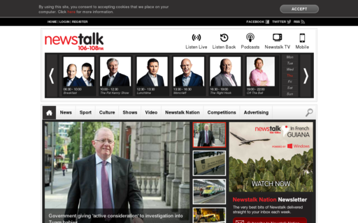 Access newstalk.ie using Hola Unblocker web proxy