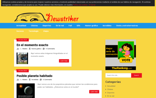 Access newstriker.com using Hola Unblocker web proxy