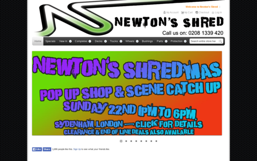 Access newtons-shred.co.uk using Hola Unblocker web proxy