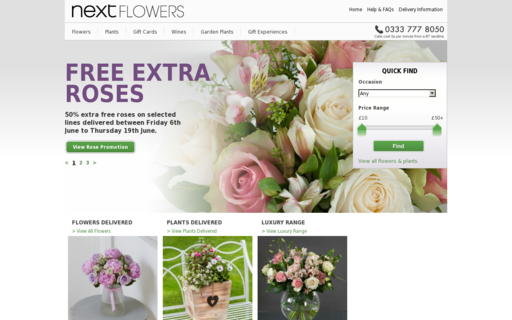 Access nextflowers.co.uk using Hola Unblocker web proxy