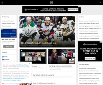 Access nhl.com using Hola Unblocker web proxy