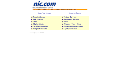 Access nic.com using Hola Unblocker web proxy