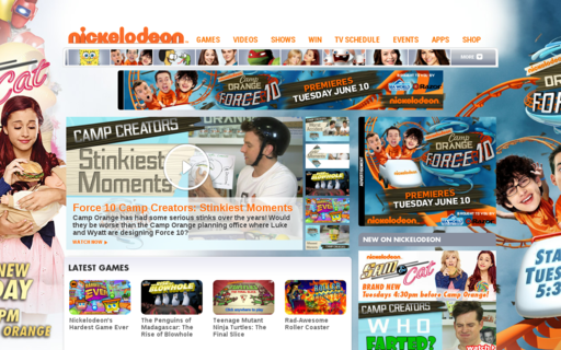 Access nickelodeon.com.au using Hola Unblocker web proxy