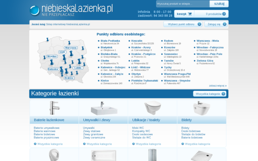 Access niebieskalazienka.pl using Hola Unblocker web proxy