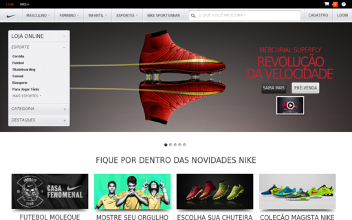 Access nike.com.br using Hola Unblocker web proxy