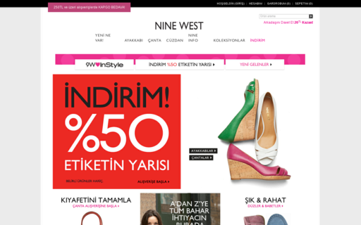Access ninewest.com.tr using Hola Unblocker web proxy