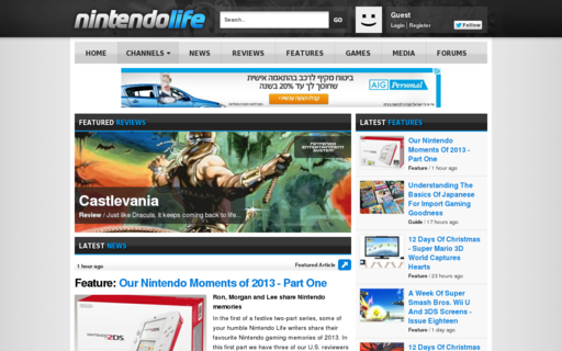 Access nintendolife.com using Hola Unblocker web proxy