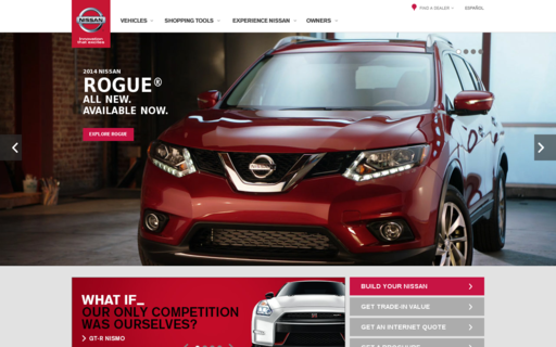 Access nissanusa.com using Hola Unblocker web proxy