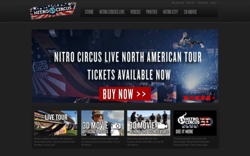 Access nitrocircus.com using Hola Unblocker web proxy