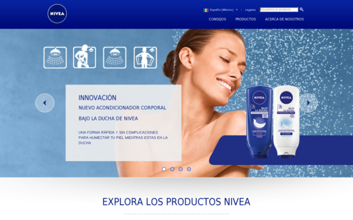 Access nivea.com.mx using Hola Unblocker web proxy
