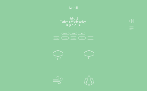 Access noisli.com using Hola Unblocker web proxy
