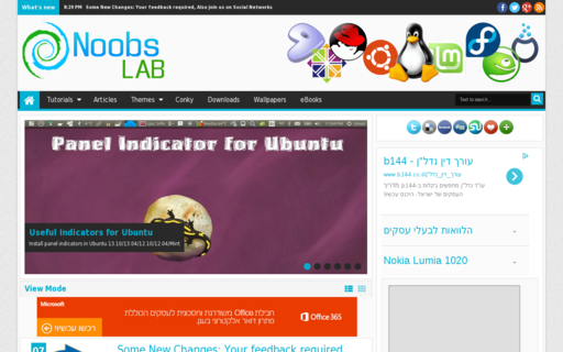 Access noobslab.com using Hola Unblocker web proxy