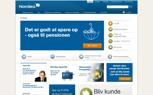 Access nordea.dk using Hola Unblocker web proxy