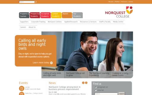 Access norquest.ca using Hola Unblocker web proxy