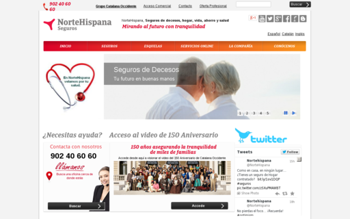 Access nortehispana.com using Hola Unblocker web proxy