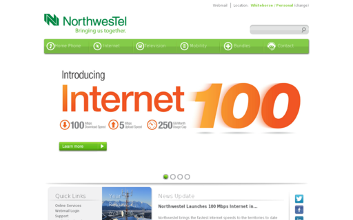 Access northwestel.net using Hola Unblocker web proxy