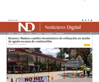 Access noticierodigital.com using Hola Unblocker web proxy