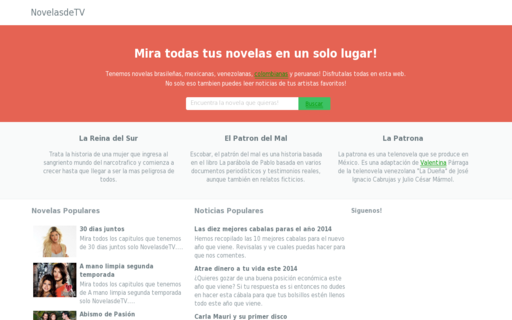Access novelasdetv.com using Hola Unblocker web proxy