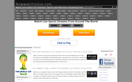 Access nowwatchtvlive.com using Hola Unblocker web proxy
