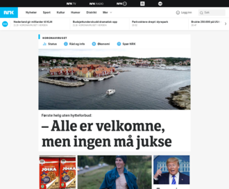 Access nrk.no using Hola Unblocker web proxy