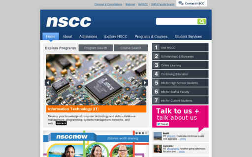 Access nscc.ca using Hola Unblocker web proxy